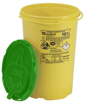 la bo te aiguilles jaune couvercle vert dans toutes les pharmacies de l le de la r union. Black Bedroom Furniture Sets. Home Design Ideas